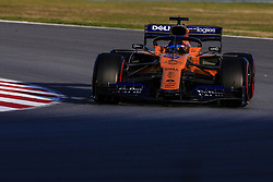 February 18, 2019 - Barcelona, Barcelona, Spain - Carlos Sainz Jr from Spain with 55 Mclaren F1 Team - Renault MCL34 in action during the Formula 1 2019 Pre-Season Tests at Circuit de Barcelona - Catalunya in Montmelo, Spain on February 18. (Credit Image: © Xavier Bonilla/NurPhoto via ZUMA Press)