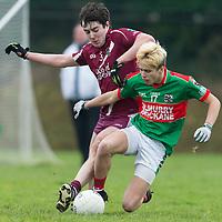 Kilmurry Ibrickane's Kevin Tubridy V Lissycasey's Niall McCarthy