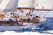 Lone Fox at the Antigua Classic Yacht Regatta
