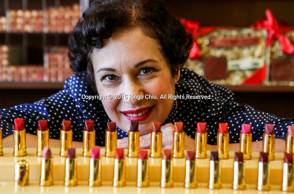 Gabriela Hernandez, cofounder of Besame Cosmetics Inc. <br /> (Photo by Ringo Chiu/PHOTOFORMULA.com)<br /> <br /> Usage Notes: This content is intended for editorial use only. For other uses, additional clearances may be required.