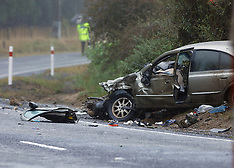 Whakatane-Driver of car dead after colliding with a truck at Onepu