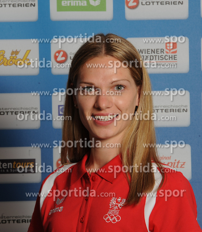 17.07.2016, Hotel Mariott, Wien, AUT, Olympia, Rio 2016, Einkleidung OeOC, im Bild Baldauf Elisabeth ((Badmington) // during the outfitting of the Austrian National Olympic Committee for Rio 2016 at the Hotel Mariott in Wien, Austria on 2016/07/17. EXPA Pictures © 2016, PhotoCredit: EXPA/ Erich Spiess