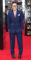 © Licensed to London News Pictures. 13/04/2014, UK. Gok Wan, The Laurence Olivier Awards, Royal Opera House, London UK, 13 April 2014. Photo credit : Richard Goldschmidt/Piqtured/LNP