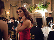 KELLY BROOK, Dinner to mark 50 years with Vogue for David Bailey, hosted by Alexandra Shulman. Claridge's. London. 11 May 2010 *** Local Caption *** -DO NOT ARCHIVE-© Copyright Photograph by Dafydd Jones. 248 Clapham Rd. London SW9 0PZ. Tel 0207 820 0771. www.dafjones.com.<br /> KELLY BROOK, Dinner to mark 50 years with Vogue for David Bailey, hosted by Alexandra Shulman. Claridge's. London. 11 May 2010