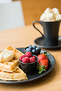 Food and interior photography at Pontio in Bangor, Wales by Photographer Ioan Said