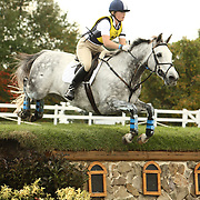 Samantha Taylor and Livewire at the 2007 Fair Hill International CCI3* in Elkton, Maryland.