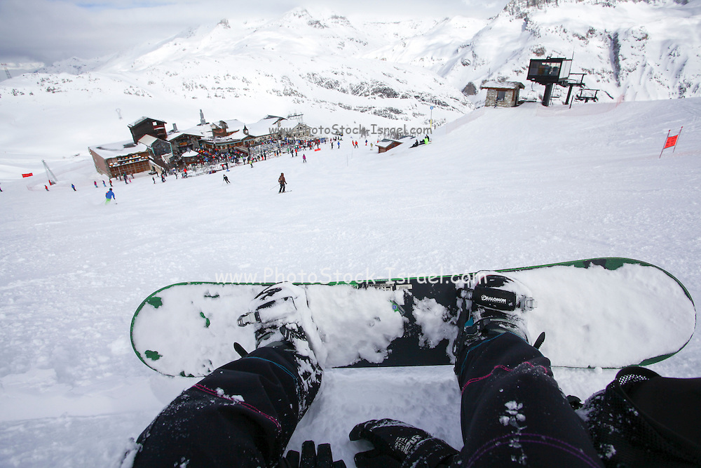 Tignes, France, Ski resort