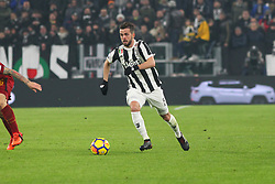 December 23, 2017 - Turin, Piedmont, Italy - Miralem Pjanic (Juventus FC) in action during the Series A football match between Juventus FC and AS Roma at Allianz Stadium on 23 December, 2017 in Turin, Italy. .Juventus won 1-0 over Roma. (Credit Image: © Massimiliano Ferraro/NurPhoto via ZUMA Press)