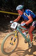 Maria Paola Turcutto at the UCI World Mountain Bike Championships, Cairns, Australia, 1996