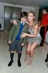 ABBEY CLANCY and JACK REA at Fashion For The Brave at The Dorchester, Park Lane, London on 8th November 2013.