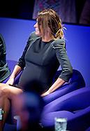 20-11-2015 AALSMEER -  de zwangere zwanger Sabia Boulahrouz Engizek samen met Uri geller en Walter Rolfo Sabia Boulahrouz neemt plaats aan de jurytafel van het nieuwe SBS6-programma Mindmasters Live in de studio van Aalsmeer Niet alleen Sabia siert een stoel van de Raad van Tien. Naast haar zitten Jochem van Gelder, Peter R. de Vries, Boer Geert, Patty Brard, Wolter Kroes, Monique Smit, Kay Nambiar, Lisa Michels en Patricia Paay. Die laatste kwam in een strak, kittig jurkje de studio in en met lange, zwarte kniekousen. Uitbundig juichend jutte zij het publiek op. Het SBS-programma MindMasters Live is vrijdagavond van start gegaan en waar het zou moeten gaan om de indrukwekkende acts van de deelnemende mentalisten, is de aandacht meer op de zwangere Sabia Boulahrouz gevestigd. . COPYRIGHT ROBIN UTRECHT