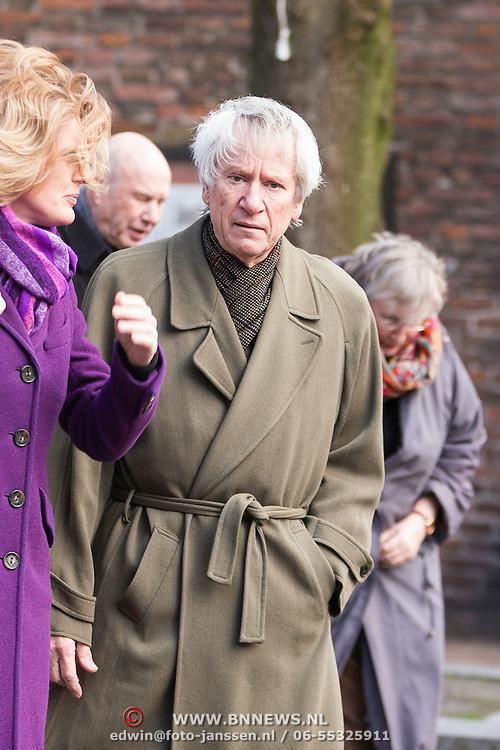 NLD/Utrecht/20140215 - Herdenkingsdienst Els Borst in de Domkerk, Gerrit-Jan Wolffensprenger