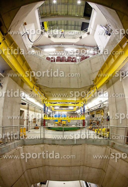 26.05.2011, Tauernkraftwerke, Kaprun, AUT, BZÖ Klubklausur, Kaprun, im Bild die verschiedenen Ebenen des Tauernkraftwerks Limberg II, EXPA Pictures © 2011, PhotoCredit: EXPA/ J. Feichter