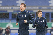 Tottenham Hotspur forward Harry Kane during the Barclays Premier League match between Everton and Tottenham Hotspur at Goodison Park, Liverpool, England on 3 January 2016. Photo by Simon Davies.