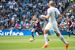 09.04.2016, Estadio Santiago Bernabeu, Madrid, ESP, Primera Division, Real Madrid vs SD Eibar, 32. Runde, im Bild Real Madrid's Pepe and Sociedad Deportiva Eibar's Keko Gontan // during the Spanish Primera Division 32th round match between Real Madrid and SD Eibar at the Estadio Santiago Bernabeu in Madrid, Spain on 2016/04/09. EXPA Pictures © 2016, PhotoCredit: EXPA/ Alterphotos/ Borja B.Hojas<br /> <br /> *****ATTENTION - OUT of ESP, SUI*****