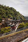 Asahan 1 Dam,  Asahan 1 a 180 MW run-of-river hydroelectric power plant located in Indonesia's North Sumatera Province at the upstream reach of the Asahan River   at Porsea District,  North Sumatera Province, Indonesia  on July 13, 2015
