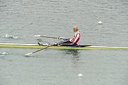 Munich, GERMANY,  BLR W1X Ekayerina KARSTEN. 2010 FISA World Cup. Munich Olympic Rowing Course, Sunday  20/06/2010   [Mandatory Credit Peter Spurrier/ Intersport Images]