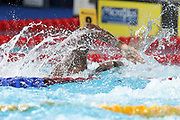 Jonathan Atsu (French) In the first half Final of the 200 m Freestyle during the Swimming European Championships Glasgow 2018, at Tollcross International Swimming Centre, in Glasgow, Great Britain, Day 5, on August 6, 2018 - Photo Laurent Lairys / ProSportsImages / DPPI