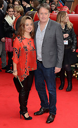 Christopher Smith and Guest attend The UK Premiere of Get Santa at Vue West End, Leicester Square, London on Sunday 30th November 2014