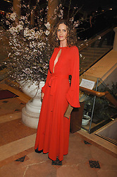 TRINNY WOODALL at the Feast of Albion a sumptious locally-sourced banquet in aid of The Soil Association held at The Guildhall, City of London on 12th March 2008.<br />