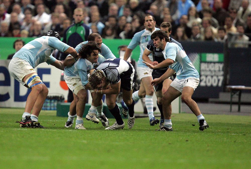 Argentina v Scotland (19 - 13) Stade de France, St Dennis, 07/10/2007, Quarter Final Match 44. Rugby World Cup 2007..