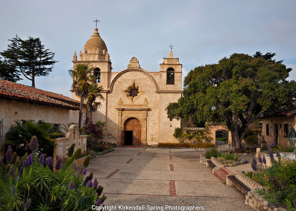 CA02480-00...CALIFORNIA - Mission San Carlos Borromeo Del Rio Carmelo at Carmel-by-the-Sea.