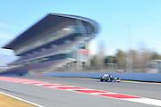Pastor Maldonado (VEN) drives the Williams F1 Team FW34 Formula One Testing, Circuit de Catalunya, Barcelona, Spain, World Copyright: Jamey Price