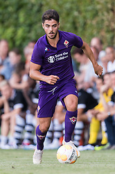 Riccardo Sottil of ACF Fiorentina during the Pre-season Friendly match between Heracles Almelo and Fiorentina at Sportpark Wiesel  on August 01, 2018 in Wenum-Wiesel , The Netherlands