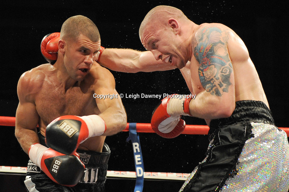 Tony Hill defeats Matt Hainy at Coventry Skydome, Coventry, United Kingdom on 23rd April 2010. Frank Maloney Promotions.Photo credit: © Leigh Dawney