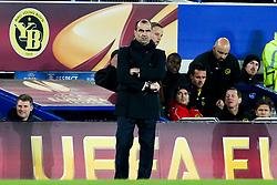 Everton Manager, Roberto Martinez - Photo mandatory by-line: Matt McNulty/JMP - Mobile: 07966 386802 - 26/02/2015 - SPORT - Football - Liverpool - Goodison Park - Everton v Young Boys - UEFA EUROPA LEAGUE ROUND OF 32 SECOND LEG