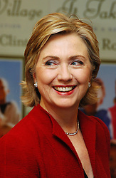 Senator Hillary Rodham Clinton attends a book signing for her book 'It Takes A Village' held at Barnes & Noble Lincoln Center on Monday, December 18, 2006 in New York City, New York. Photo by Gregorio Binuya/ABACAPRESS.COM