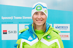 Claudia Seidl during presentation of Team Slovenia for European Youth Olympic Festival - EYOF Brasov 2013 on February 13, 2013 in Bled, Slovenia. (Photo By Vid Ponikvar / Sportida)
