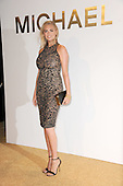Kate Upton attending the new Gold Collection fragrance launch