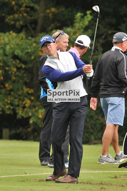 Niclas Fasth Sweden, British Masters, European Tour, Woburn Golf Course Friday 9th October 2015.