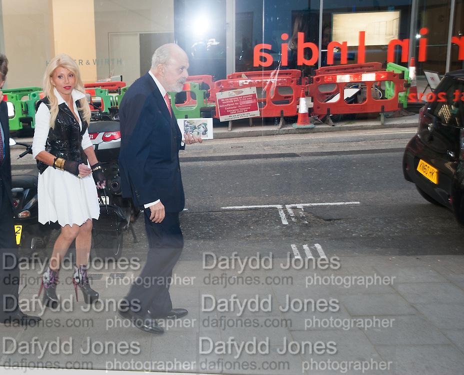ELFIE LLOYD; GILBERT LLOYD, Pilar Ordovas hosts a Summer Party in celebration of Calder in India, Ordovas, 25 Savile Row, London 20 June 2012