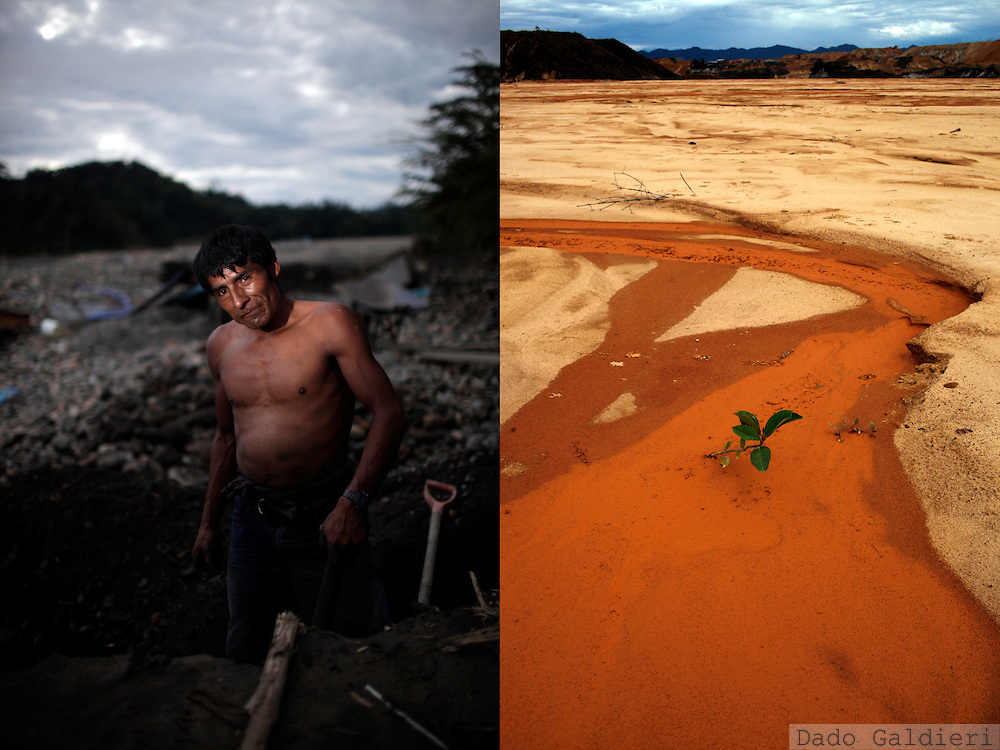 Selects of a job for WWF International in Puerto Maldonado, Peru on June 2011. Documenting this green frontier as the Interoceanic road cuts through the heart of the Peruvian Amazon.(WWF-Canon / Dado Galdieri)