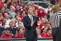 Pittsburgh head coach Jamie Dixon. <br /> <br /> The University of Louisville hosted the University of Pittsburgh, Wednesday, Feb. 11, 2015 at Yum Center in Louisville. <br /> <br /> Photo by Jonathan Palmer