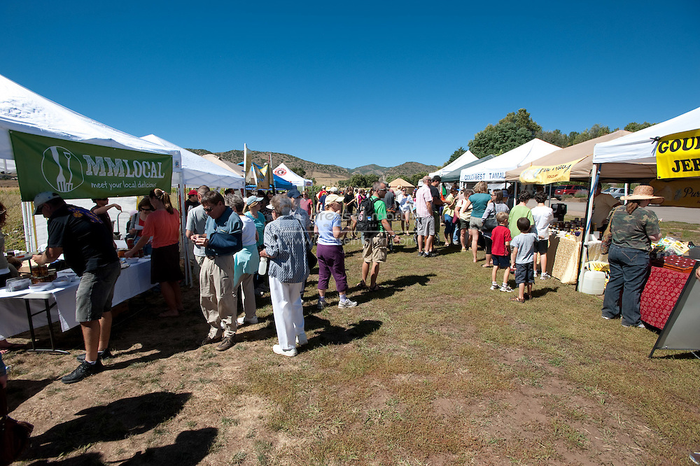 Denver Botanic Gardens at Chatfield. Local Food Festival 2010