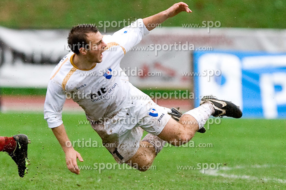 Danijel Rakuscek of Gorica at football match of 25th Round of 1st Slovenian League  between NK Interblock and NK Hit Gorica, on March 31, 2010, in ZAK Stadium, Ljubljana, Slovenia. Gorica defeated Interblock 5-0. (Photo by Vid Ponikvar / Sportida)