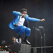 West End Live! 2016 <br /> Trafalgar Square, London, Great Britain <br /> 18th June 2016<br /> <br /> MOTOWN &ndash; THE MUSICAL<br /> <br /> <br /> Photograph by Elliott Franks <br /> Image licensed to Elliott Franks Photography Services