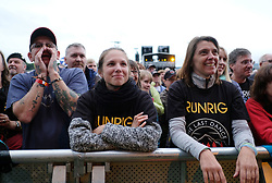 RUNRIG - THE LAST DANCE - FINAL FAREWELL CONCERT, Stirling, Saturday,18th August 2018<br /> <br /> Veteran Scottish rockers Runrig played their farewell concert tonight to mark their retirement after 45 years in the music business.<br /> <br /> The current line-up features Rory Macdonald (Bass), Calum Macdonald (Percussion), Iain Bayne (Drums), Malcolm Jones (Guitar), Brian Hurren (Keyboard) and Bruce Guthro (Lead Singer)<br /> <br /> They were supported by former member Donnie Munro and Julie Fowlis<br /> <br /> Pictured:  The Crowd<br /> <br /> <br /> (c) Alex Todd   Edinburgh Elite media