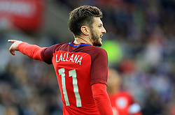 Adam Lallana of England  - Mandatory by-line: Matt McNulty/JMP - 27/05/2016 - FOOTBALL - Stadium of Light - Sunderland, United Kingdom - England v Australia - International Friendly