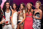 ESSEX MEETS CHELSEA; OLLIE LOCKE; LYDIA BRIGHT; GABRIELLA ELLIS; LAUREN GOODGER;  CHESKA HULL; , The London Bar and Club awards. Intercontinental Hotel. Park Lane, London. 6 June 2011. <br /> <br />  , -DO NOT ARCHIVE-© Copyright Photograph by Dafydd Jones. 248 Clapham Rd. London SW9 0PZ. Tel 0207 820 0771. www.dafjones.com.