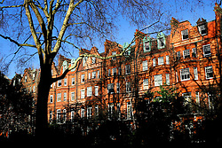 UK ENGLAND LONDON 13MAR07 - Victorian facades on residential housing properties in the Sloane Square area, a wealthy part of west London.. . jre/Photo by Jiri Rezac. . © Jiri Rezac 2007. . Contact: +44 (0) 7050 110 417. Mobile:  +44 (0) 7801 337 683. Office:  +44 (0) 20 8968 9635. . Email:   jiri@jirirezac.com. Web:    www.jirirezac.com. . © All images Jiri Rezac 2007 - All rights reserved.