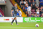 Jamie Vardy of Leicester City (9) during the Pre-Season Friendly match between Scunthorpe United and Leicester City at Glanford Park, Scunthorpe, England on 16 July 2019.