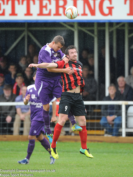 Ross Oulton, Kettering Ton, Kettering Town v Daventry Town Southern League Division One Central, 25th August 2014