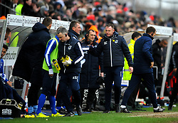 Bristol Rovers manager Graham Coughlan after the final whistle -Mandatory by-line: Nizaam Jones/JMP- 16/03/2019 - FOOTBALL - Memorial Stadium - Bristol, England - Bristol Rovers v Charlton Athletic - Sky Bet League One