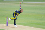 Gareth Berg of Hampshire bowling during the Royal London One Day Cup match between Hampshire County Cricket Club and Middlesex County Cricket Club at the Ageas Bowl, Southampton, United Kingdom on 23 April 2019.
