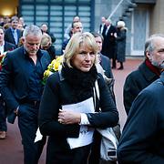 NLD/Drievliet/20130104 - Uitvaart Arend Langeberg, Peter R. de Vries en partner Angelique Schuitemaker