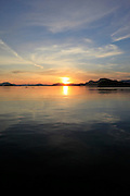 Sunset,  Sitka, Alaska, calm, placid, ocean